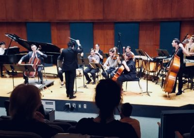 "Premiere of ""Areítos"" concerto for cello - Ithaca College, Ithaca, NY - 04/28/2018"
