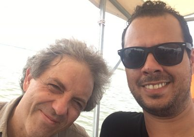 With mentor and friend Stefano Gervasoni - Valencia, Spain - 07/2018